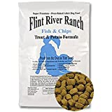 Flint River Ranch Fish and Chips - Trout and Sweet Potato Dog Food - 10lb Bag
