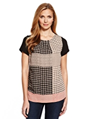 M&S Collection Placement Print T-Shirt