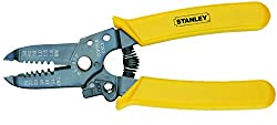 Stanley 84-475 Wire Stripper with Cutting Edge (Yellow)