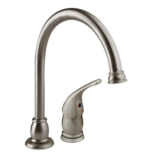 gooseneck faucet df mk301 sn designer pedestal goose