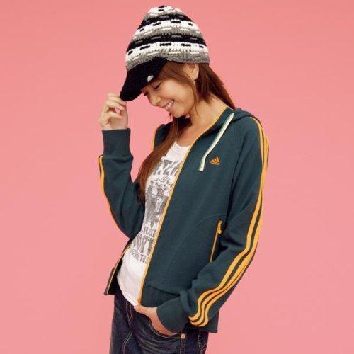 アディダス(adidas) パーカ(ストレッチスウェットパーカ) レディス