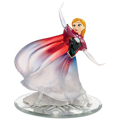 Love Warms a Frozen Heart Anna Figurine with Swarovski Crystals