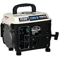 Pulsar PG1202s 1200 Watt Gas & Oil Mix Portable Generator