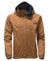 The North Face Men's Resolve Jacket Dijon Brown Small