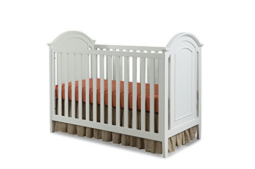 Imagio Baby Harper 3 in 1 Cottage Panel Crib, White