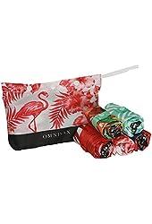 Envirosax Tropics Pouch Bag (Set of 5), Multicolor