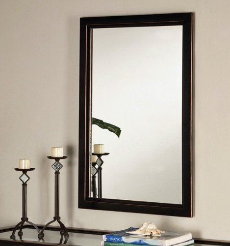 SEI Vogue 22-by-36-Inch Metal Wall Mirror