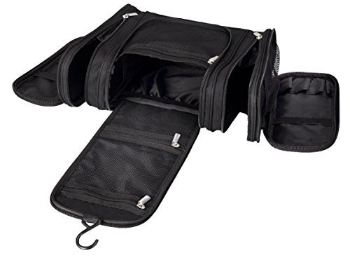 Cosmetic Travel Toiletry bag Premium Quality Hanging Makeup Organizer Mr.Sleek (Garment Bag Bauer compare prices)