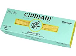 Cipriani Food Pappardelle Extra Thin Egg Pasta, 8.82 oz - 12 Pieces