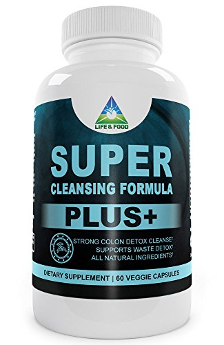 Super Cleansing Formula Plus - Powerful Colon Cleanse Supplement