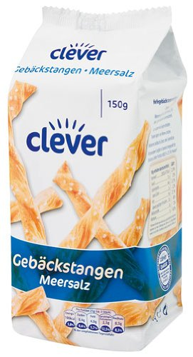 Clever Breadsticks with Salz - 150gr