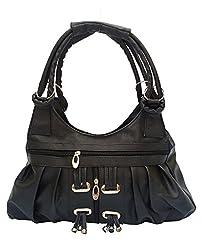 Vintage Stylish Ladies Handbag Black(bag 116)