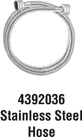 6ft stainless steel washer fill hose appliances. Black Bedroom Furniture Sets. Home Design Ideas