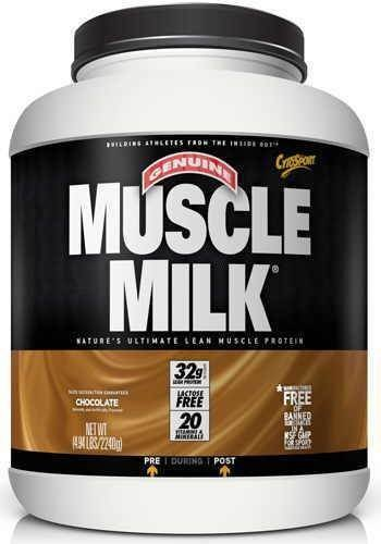 CytoSport Muscle Milk 2240 g Strawberry Whey Protein Shake Powder by CytoSport