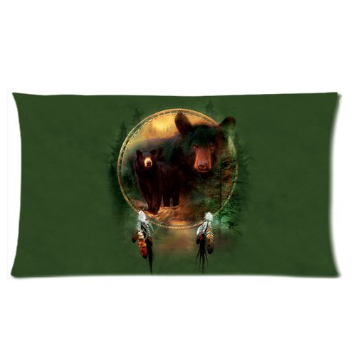 Bear Body Pillow back-276692