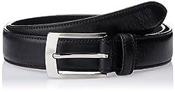 Allen Solly Men's Leather Belt (ASBLT515018_Black) (8907308119286)