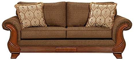 Chelsea Home Furniture Shannen Sofa, Kindred Brown