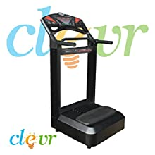 Black Pro 1000w Full Body Vibration Massage Machine Platform Crazy Fitness