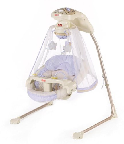 Sale!! Fisher-Price Papasan Cradle Swing, Starlight