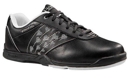 Etonic - Scarpe da bowling Kitty II, modello da donna, colore: nero, Nero (nero), 41