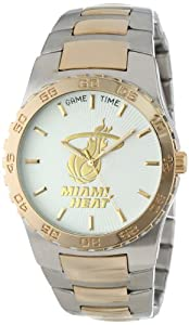Game Time Mens NBA-EXE-MIA Miami Heat Watch by Game Time