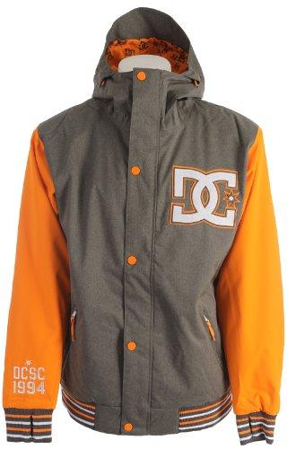 DC Dcla Snowboard Jacket Dark Gull Grey Mens Sz XL DC B00EROPMKI