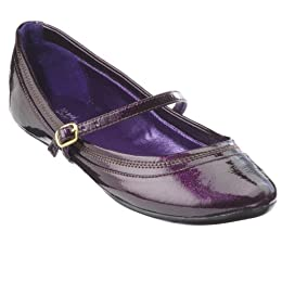 Mossimo purple Vlasta flats