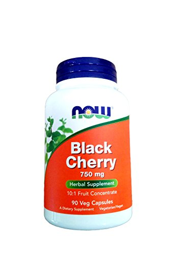 NOW Black Cherry Fruit Extract 750 mg - 90 Vcaps (Now Black Cherry Extract compare prices)