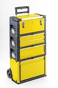 trolley 4 module mit 5 f chern werkzeugtrolley mit alu griff baumarkt. Black Bedroom Furniture Sets. Home Design Ideas