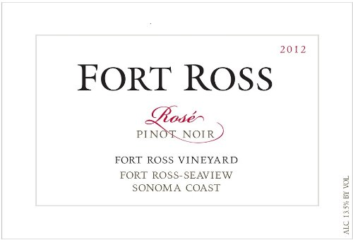 2012 Fort Ross Rosé Of Pinot Noir, Fort Ross-Seaview Sonoma Coast 750 Ml