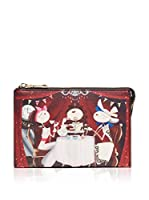 Love Moschino Bolso de mano (Rojo / Multicolor)