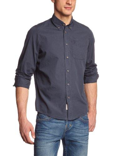 Herrlicher Men's 8158 H1811 Homer Casual Shirt Blue (Marine 12) 44