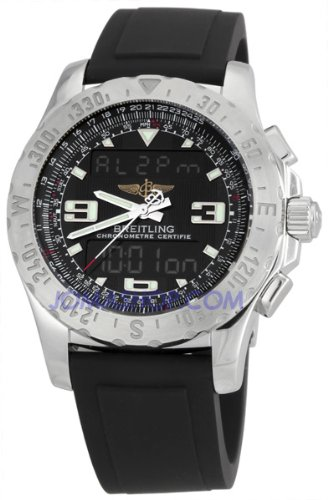 Breitling Professional Airwolf SuperQuartz Analog-Digital Watch A7836323-B9-120S