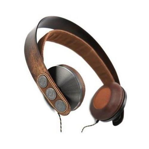 House Of Marley Em-Fh003-Ha On Ear Headphone Mic Exodus 3 Button Control W/ Case