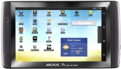 ARCHOS 70 250 GB Internet Tablet
