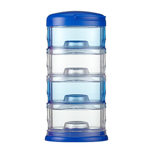 Innobaby Packin' Smart Four Tier Storage System, Blue, 11 Ounce