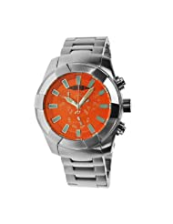 Android Men's AD538BRG Naval 2G Chronograph Orange Dial Watch
