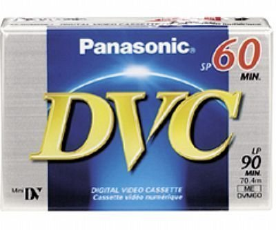 Best Price Panasonic DVM60EJ50P 60 Minutes Mini DV - 50 PackB0000AOWVO