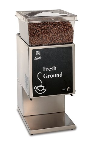 Wilbur Curtis Coffee Grinder 5.0 Lb Grinder With Single Hopper, Low Profile - Commercial Burr Grinder - SLG-10 (Each)