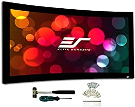 Elite Screens Lunette 2 Series 92-inch 169 Curved Fixed Frame Home Theater Projection Screen Model C