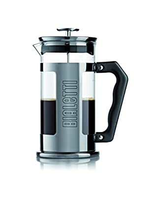 Bialetti 06700 3-Cup French Press Coffee Maker