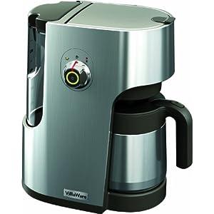 UK Coffee Percolator Electric: ?99.95 Villaware BVVLDCSL01 Filter Coffee Maker Die Cast Metal