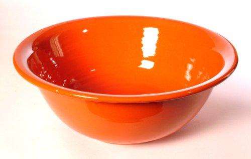 Mamma Ro 10-1/2-Inch by 4.2-Inch Pasta Serving Bowl, Orange