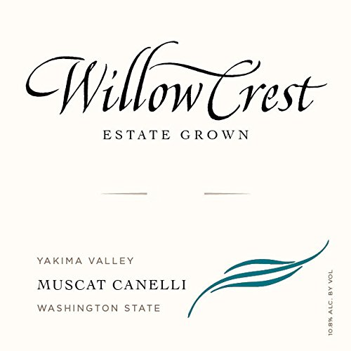 2012 Willow Crest Muscat Canelli, Estate Grown, Yakima Valley, 750 Ml