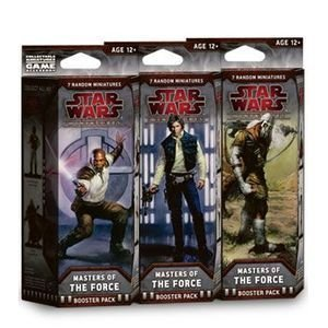 スターウォーズ Star Wars CMG Miniatures Game Masters of the Force Booster Pack [並行輸入品]
