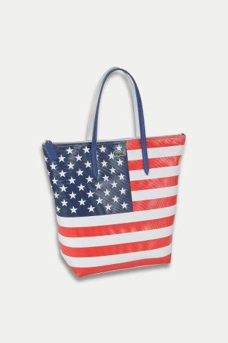 Vertical PVC Pique Flag Bag