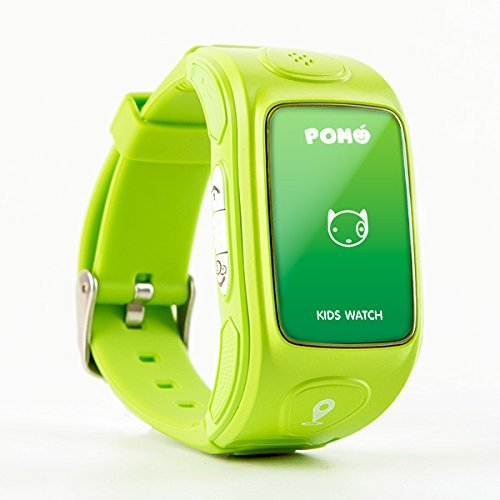 pomo-kidswatch-nature-green-smart-phone-watch-parenting-tools-w-smart-locator-accident-report-intell