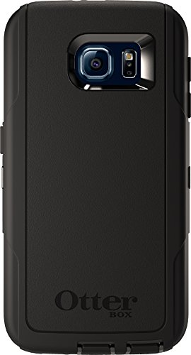 OtterBox DEFENDER SERIES for Samsung  Galaxy S6 - Frustration-Free Packaging  - Black (Otterbox For Samsung Note Edge compare prices)