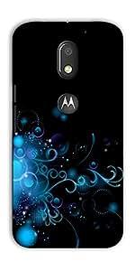 DigiPrints Designer Back Cover for Motorola Moto E3 Power-Multicolor