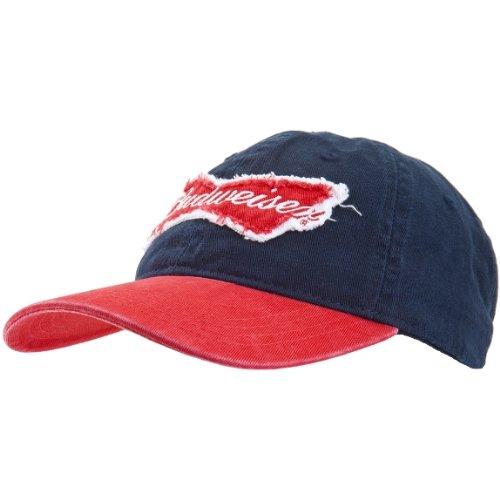 old-glory-budweiser-unisexe-noeud-logo-casquette-reglable